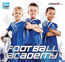 Football Academy Facebook oraz Let's Move